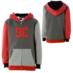 DC Raggedy Full-Zip Hooded Sweatshirt - Boys