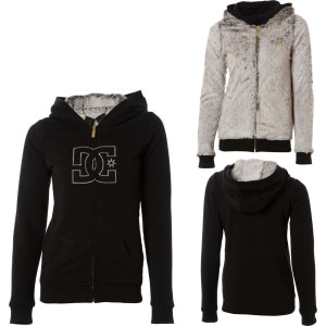 DC Daylight Reversible Full-Zip Hooded Sweatshirt - Womens