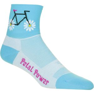 DeFeet Petal Power Sock