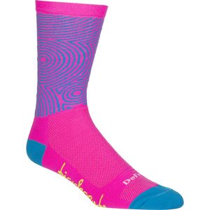 DeFeet Bicycle Crumbs Concentric Circles 6in Sock