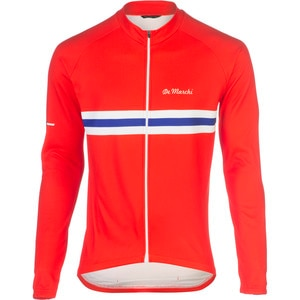 De Marchi Worlds Pack Euro National Long Sleeve Jersey
