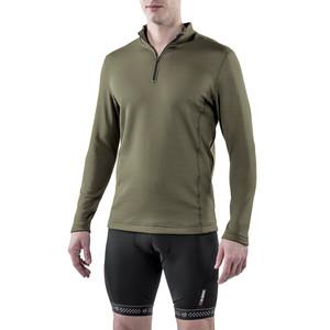 De Marchi Hybrid Thermal Top Jersey - Long Sleeve - Men's