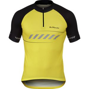 De Marchi Visibility 1/4-Zip Jersey - Short-Sleeve - Men's