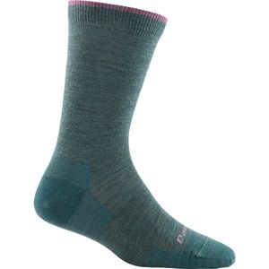 Darn Tough Merino Wool Solid Basic Light Crew Socks - Women's