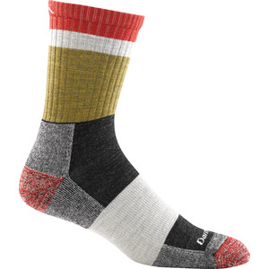 Darn Tough Heady Stripe Micro Crew Light Cushion Socks