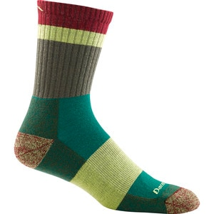 Darn Tough Heady Stripe Micro Crew Light Cushion Socks - Men's