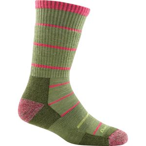 Darn Tough Summit Stripe Cushion Boot Sock - Women's