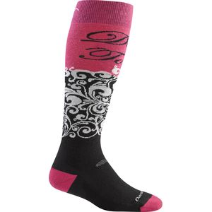 Darn Tough DT Script Over-The-Calf Cushion Socks - Women's
