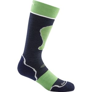 Darn Tough Merino Wool Over-The-Calf Padded Ultra-Light Ski Sock - Kids'
