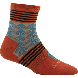 Darn Tough Swirl Print Shorty Light Sock - Women's