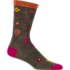 Darn Tough Merino Wool Spring Garden Light Crew Sock - Women's