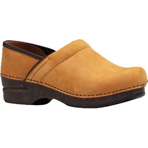 Dansko Professional Wheat Nubuck Clog - Women's