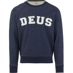 Deus Ex Machina Walter Applique Crew Sweatshirt - Men's