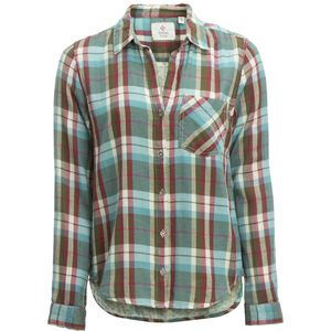 Dylan Harley Double Weave Plaid 1 Pocket Shirt - Long-Sleeve - Women's