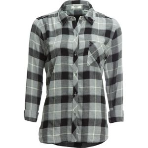 Dylan Cassidy Rayon Plaid 1 Pocket Shirt - Long-Sleeve - Women's