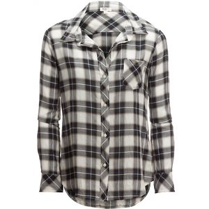 Dylan Lauren Plaid Classic Blouse - Women's