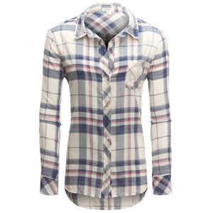 Dylan Sophy Soft Lines Plaid Shirt - Women's