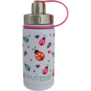 Eco Vessel Twist Triple Insulated Stainless Steel Bottle With Screw Cap - Kids' - 13oz