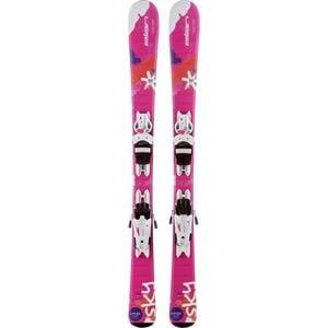 Elan Sky QS Ski with EL 4.5 AC Binding - Kids'