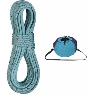 Edelrid Anniversary Pro Dry DT Climbing Rope with Caddy Lite Rope Bag - 9.7mm