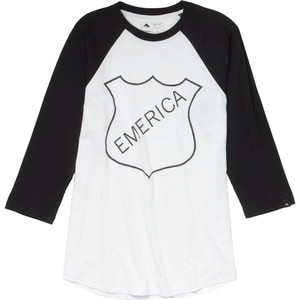 Emerica Shield Burner Raglan T-Shirt - 3/4-Sleeve - Men's