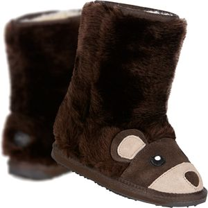 EMU Little Creatures Brown Bear Boot - Toddlers'