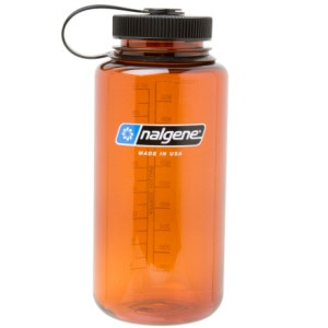 photo: Nalgene 32 oz Wide Mouth Lexan water bottle