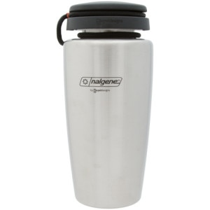 Nalgene 38 oz Backpacker Stainless Steel Bottle