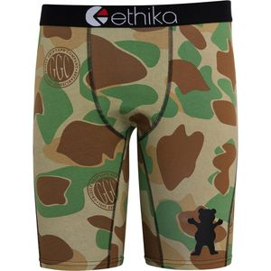Ethika Staple Print Grizzly Camo Boxer - Men's