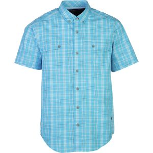 ExOfficio Contour'd Plaid Shirt - Short-Sleeve - Men's