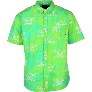 Fourstar Clothing Co Pirate Batik Shirt - Short-Sleeve - Men's