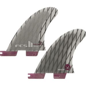 FCS Reactor Performance Core Carbon Quad Rear Surfboard Fins