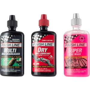 Finish Line Bike Care Pack
