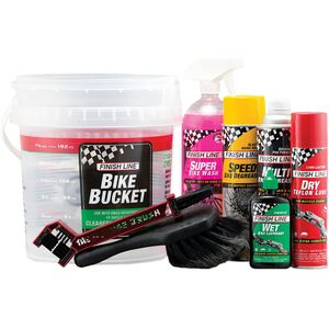 Finish Line Pro Care Bucket Kit V8