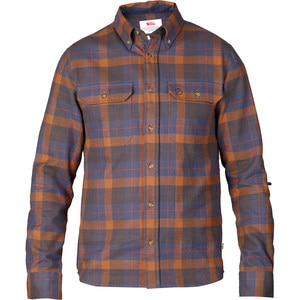 Fjallraven Sarek Heavy Flannel Shirt - Long-Sleeve - Men's