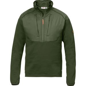 Fjallraven Keb Hybrid Fleece Jacket - 1/2-Zip - Men's