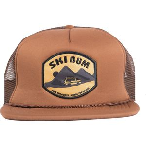 FlyLow Gear Ski Bum Trucker Hat