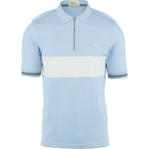 Fred Perry USA Bradley Wiggins Textured Panel Polo Shirt - Men's
