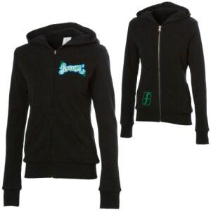 Forum Script Full-Zip Hooded Sweatshirt - Womens