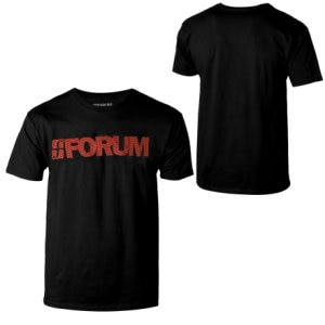 Forum Wordmark T-Shirt - Short-Sleeve - Mens
