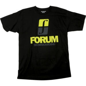 Forum Corp Stack T-Shirt - Short-Sleeve - Mens