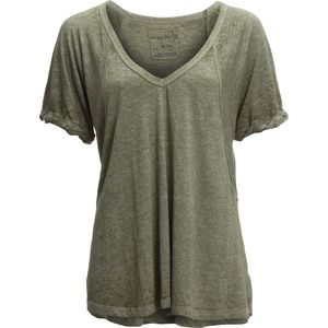 Free People Tri Blend Burnout Free Falling T-Shirt - Short-Sleeve - Women's