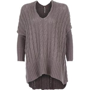 Free People Easy Cable V Sweater - Women's