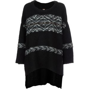 Free People Alpaca Fairisle Tunic Sweater - Women's
