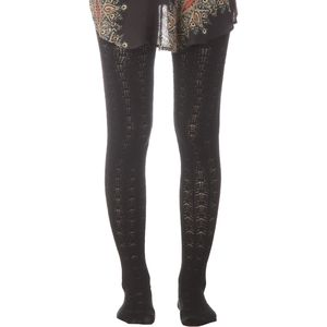 Free People Pointelle Sweater Tights - Women's