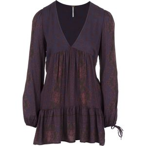 Free People '60s Rayon Voile Down By The Bay Tunic - Long-Sleeve - Women's