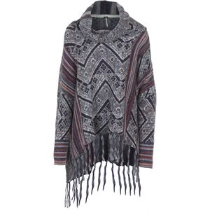 Free People Be The One Pattern Poncho - Women's