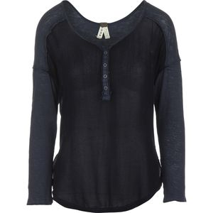 Free People Sunday Henley Shirt - Women's
