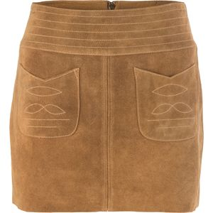 Free People Modern Love Suede Skirt - Women's