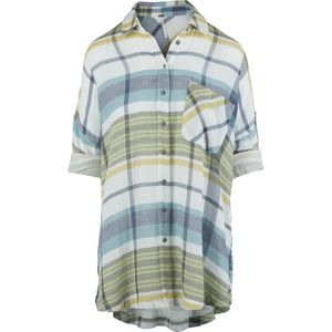 Free People Year Round Plaid Button-Down Shirt - Women's